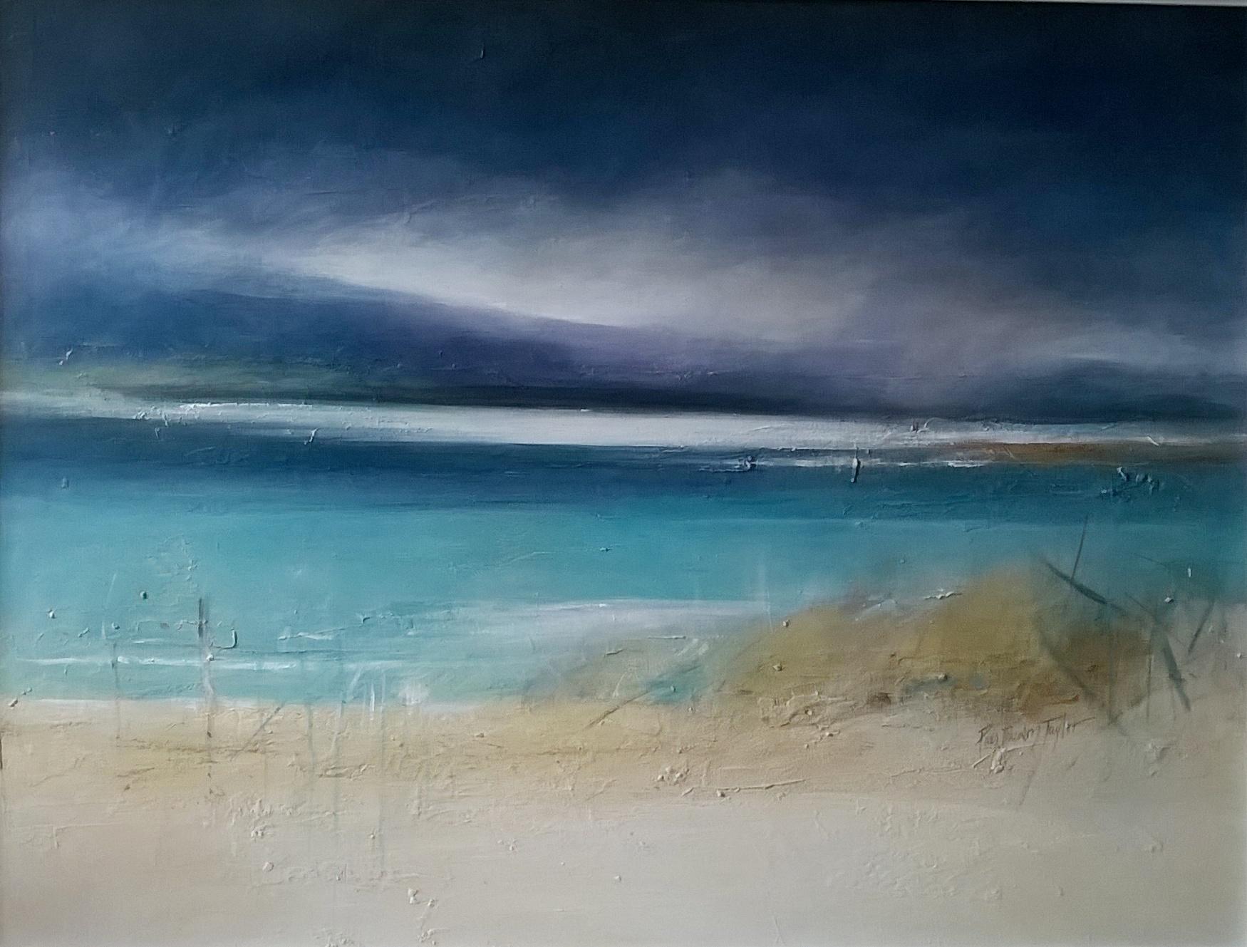 'Harris Coves, Landscape Study' by artist Pamela Dawson Taylor